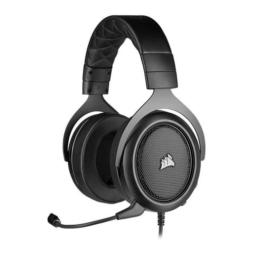 Headset Gamer Corsair HS50 Pro Stereo Carbon Drivers 50mm, CA-9011215