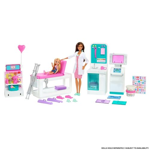 Barbie Profissões - Clínica Médica - Mattel