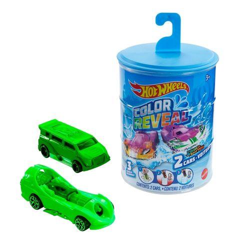 Carrinho Hot Wheels - Die Cast Color Reveal - 2 Carrinhos - Mattel