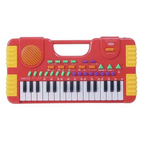 Brinquedo Teclado Musical Infantil Colorido 31 Teclas Importway