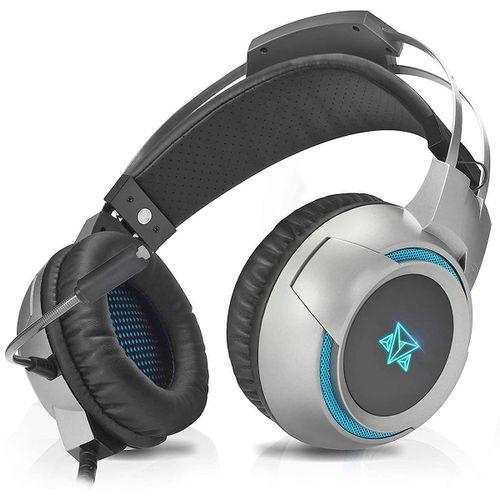 Headset Gamer Multi-Dispositivos Kira AH-1000 Microfone Omnidirecional Drivers 50mm Adamantiun Fone