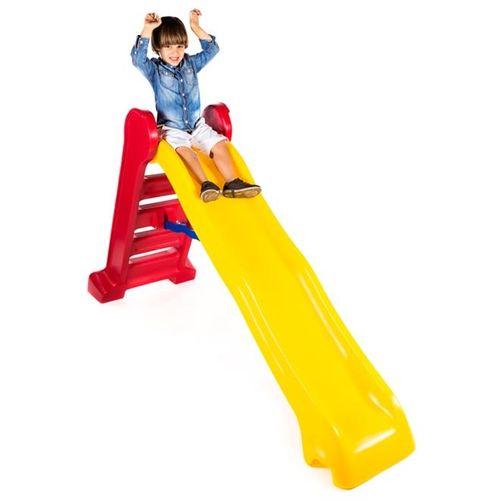 Escorregador Grande Divertido - Escada Vermelha e Rampa Amarela