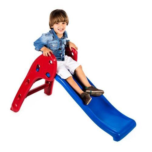 Escorregador Baby Divertido - Escada Vermelha e Rampa Azul
