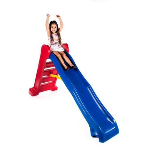 Escorregador Grande Divertido - Escada Vermelha e Rampa Azul