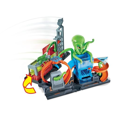 Hot Wheels - City - Lava-Rápido - Ataque Extremo - Polvo Tóxico - Mattel