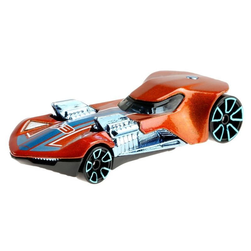 Mini-Veiculo---Hot-Wheels-Collector---Orange---Blue---Twin-Mill-III---Mattel-1