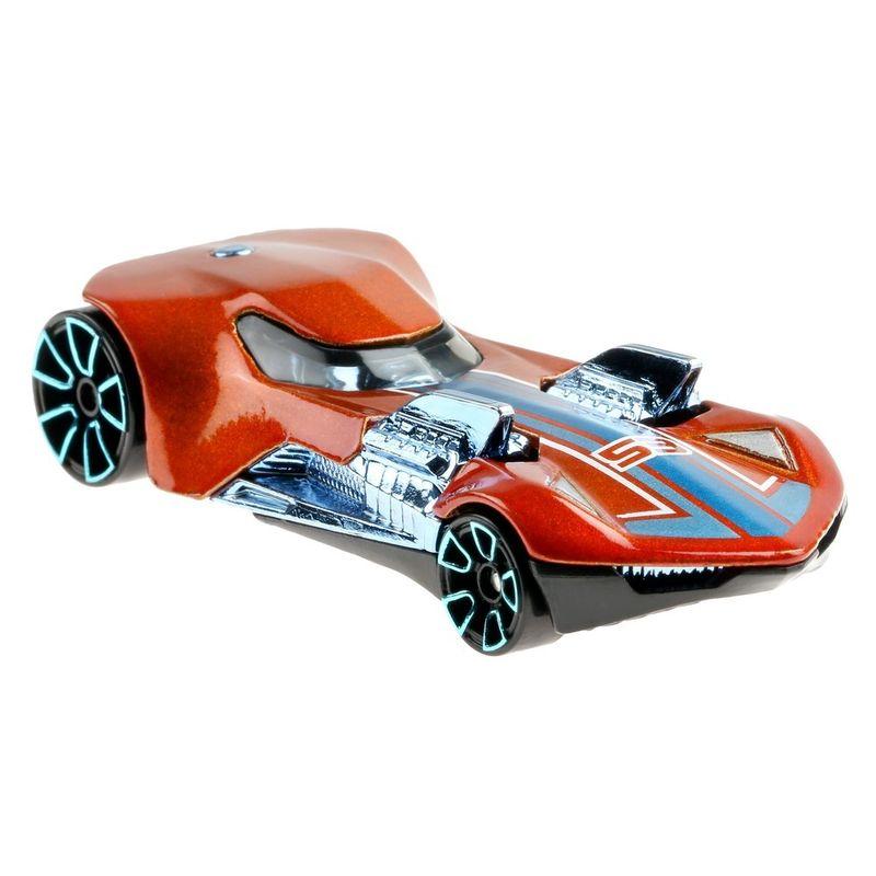 Mini-Veiculo---Hot-Wheels-Collector---Orange---Blue---Twin-Mill-III---Mattel-3