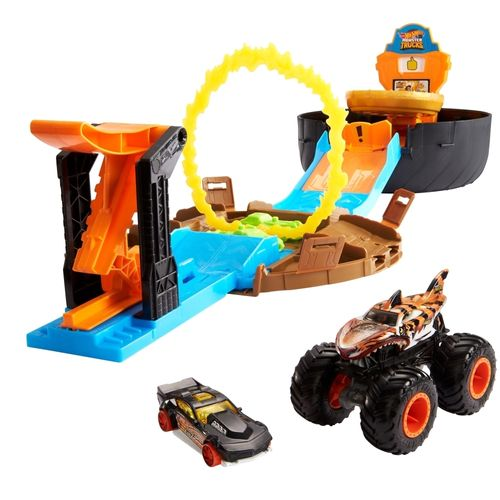 Hot Wheels - Monster Trucks - Pneus de Acrobacia - Mattel