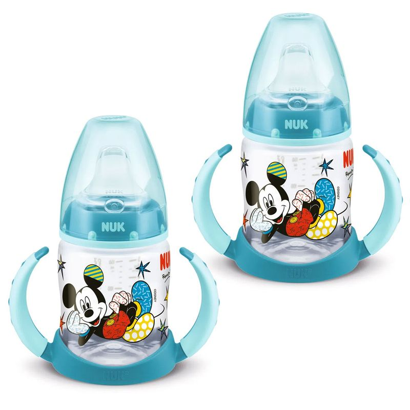 100433835-Kit-de-Copos-de-Treinamento---150Ml---First-Choice---Disney-by-Britto---Mickey---Nuk