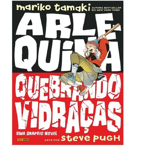 Livro Infantil - DC Comics - Livro Infantil - Arlequina - Quebrando Vidraças - Panini