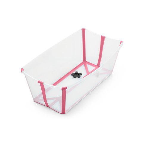 Banheira Dobrável - Stokke - Girotondo - Flexível e Leve - Com Plug Térmico - Rosa