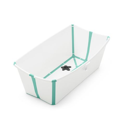 Banheira Dobrável - Stokke - Girotondo - Flexível e Leve - Com Plug Térmico - Verde