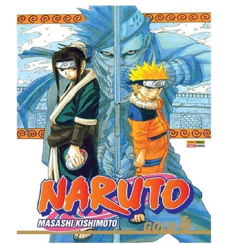 Livro Infantil - Naruto - Gold Edition - Vol. 04 - Panini