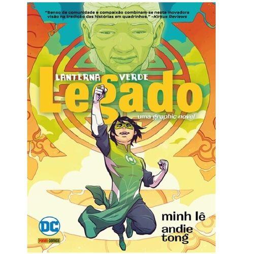 Livro Infantil - DC Comics - Lanterna Verde: Legado - Panini