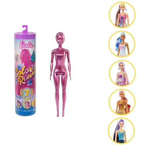 Boneca Barbie - Fashionista - Color Reveal - Glitter - Mattel