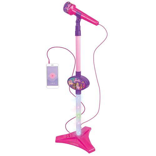 Microfone com Pedestal - Barbie Dreamtopia - Fun