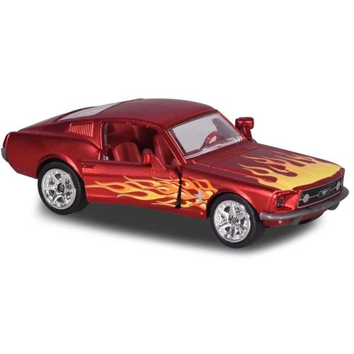 Carro Majorette Vintage Deluxe 1:64 - Ford Mustang Fastback 1967 - California Toys