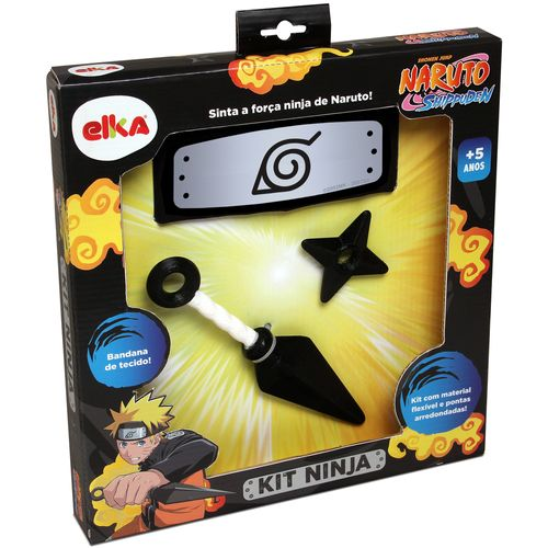 Conjunto de Acessórios - Naruto - Kit Ninja - Elka