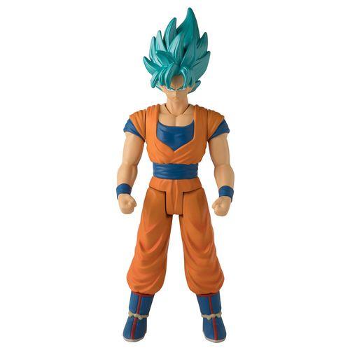 Boneco Articulado - Goku Super Saiyajin Blue - Dragon Ball - 30Cm - Fun