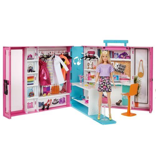 EXCLUSIVO - Boneca Barbie Fashion - Armário dos Sonhos - Mattel