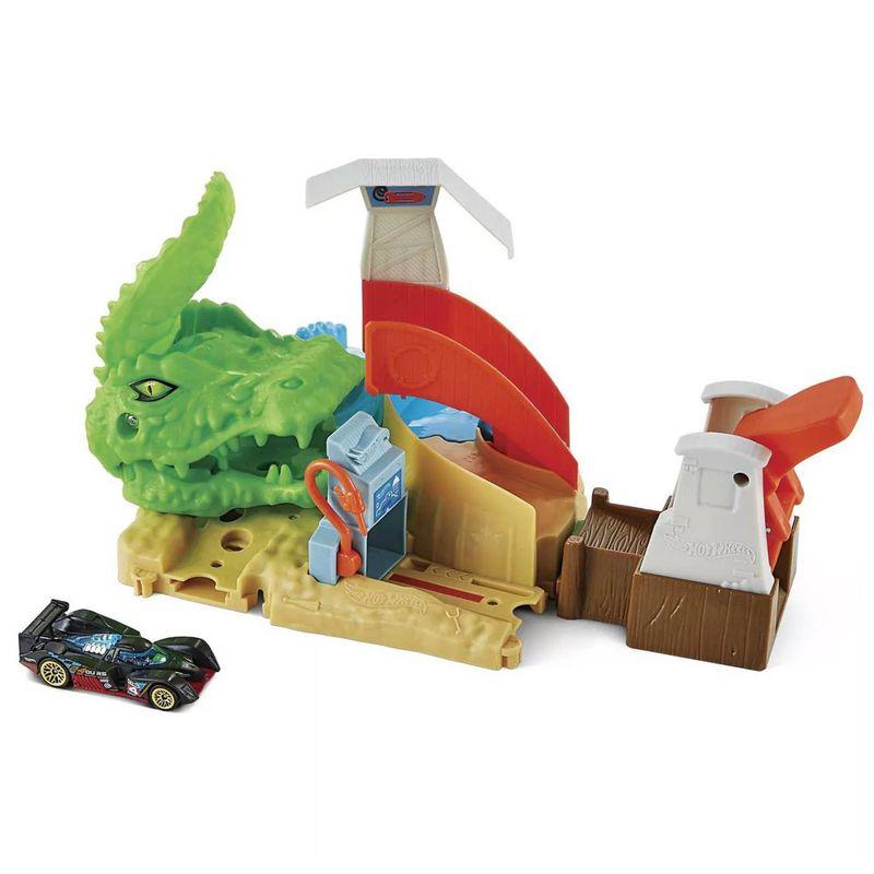Pista-Hot-Wheels---Toxic-Gator-Attack---Mattel