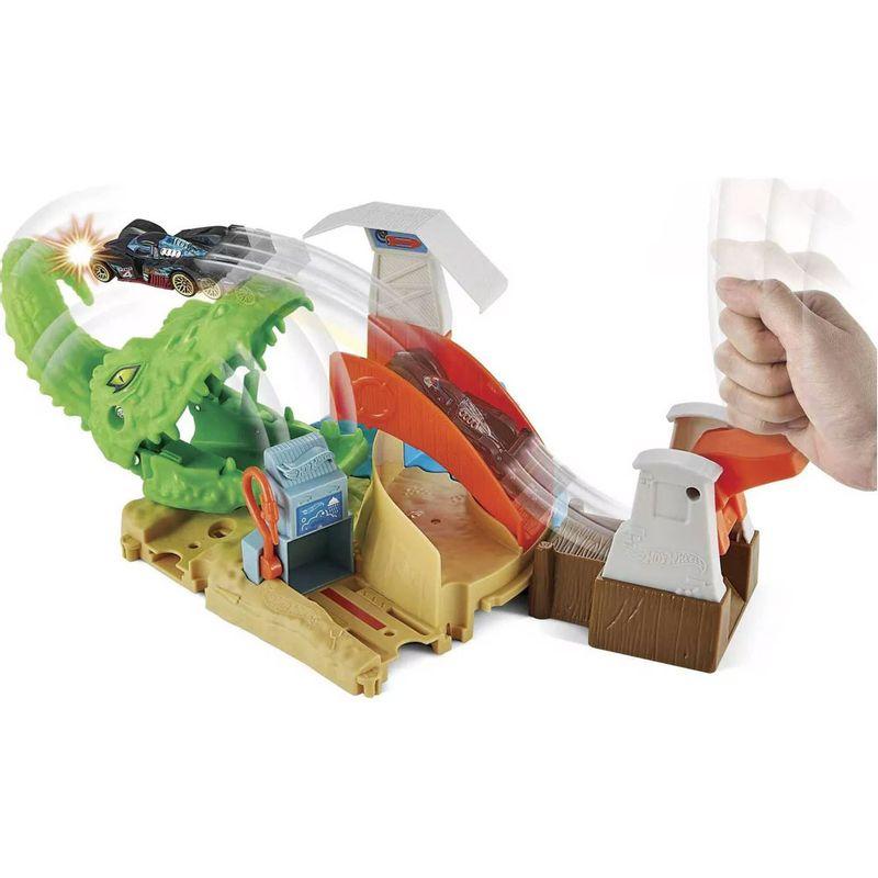 Detalhe-Pista-Hot-Wheels---Toxic-Gator-Attack---Mattel