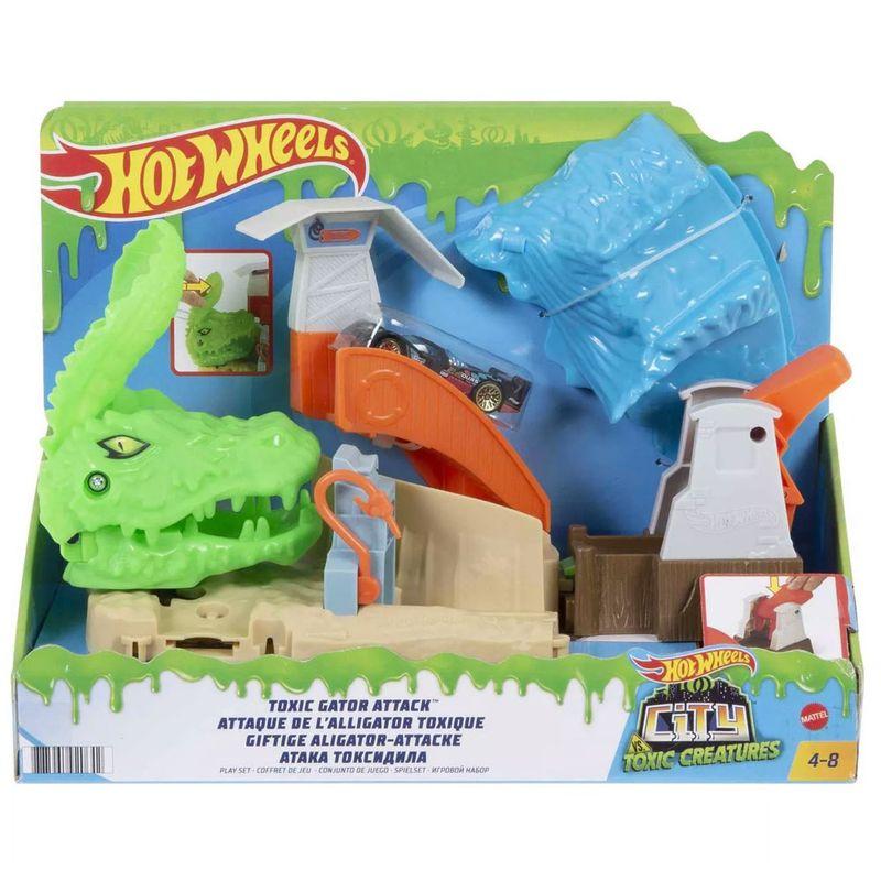 Embalagem-Pista-Hot-Wheels---Toxic-Gator-Attack---Mattel