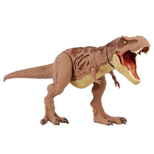 EXCLUSIVO - Figura de Ação - Jurassic World - Dano Extremo - Tyrannosaurus Rex - Mattel