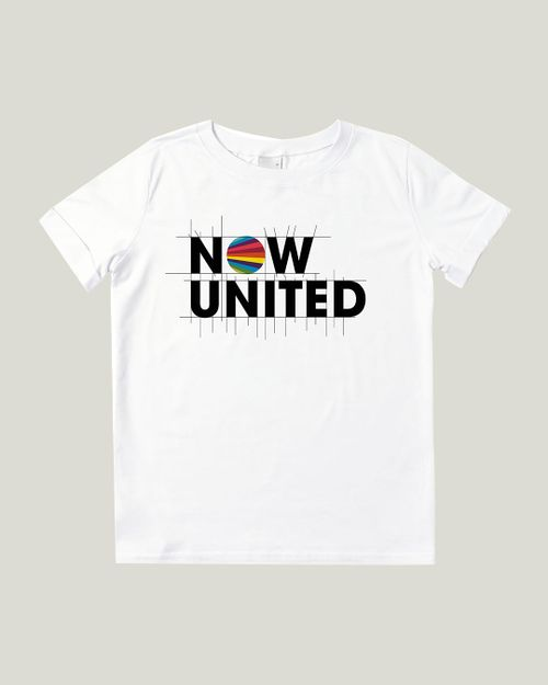 Blusa - Malwee Kids - Now United - Malha - Branco