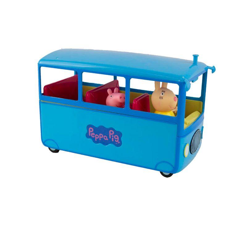 Mini-Figura-e-Veiculo---Onibus-Escolar---Peppa-Pig---Sunny-1