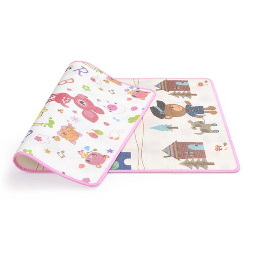 Tapete Dupla Face - Multikids Baby - Face Fun Time - My Village - 180x120 cm