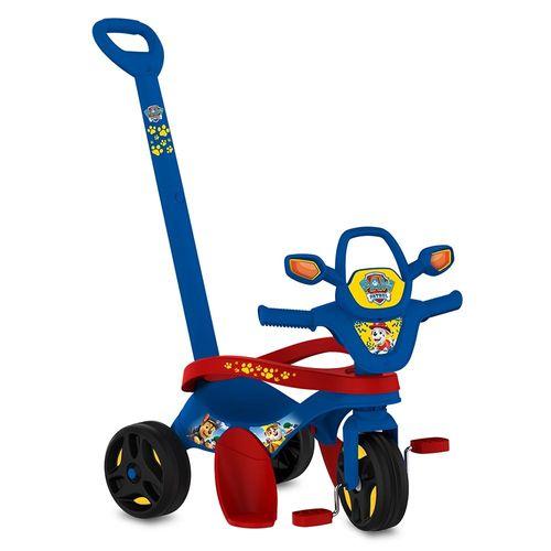 Triciclo Mototico - Passeio e Pedal - Bandeirante - Azul