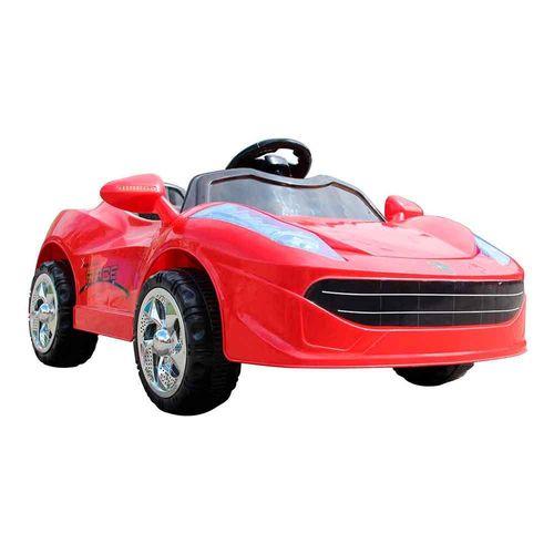 Mini Carro Esportivo Elétrico Infantil com Controle Remoto Vermelho Importway Bw097vm