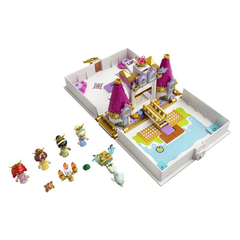 LEGO-Disney-Livro-de-Historias-e-Aventuras-Ariel-Bela-Cinderela-e-Tiana---43193-2