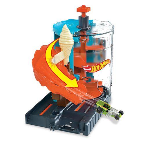 Pista - Hot Wheels - City - Sorveteria - Mattel