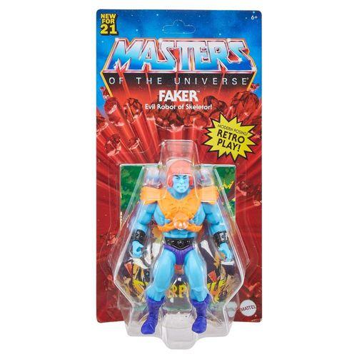 Figura de Ação Articulado - Masters Of The Universe - Faker - 14 cm - Mattel