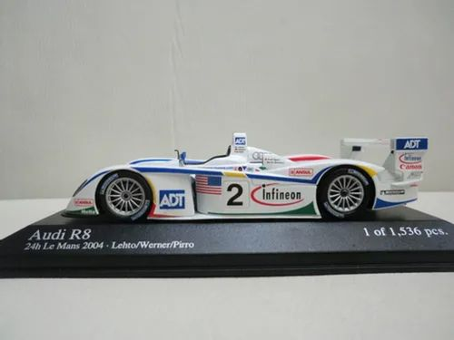 Minichamps Audi R8 24h Le Mans 2004 - Lehto / Werner / Pirro
