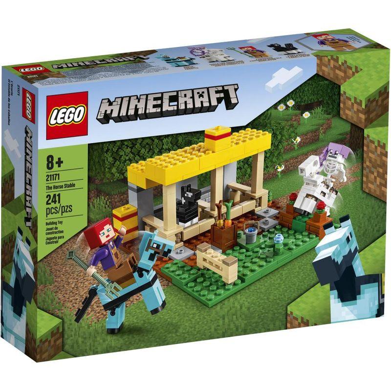 LEGO-Minecraft---O-Estabulo-de-Cavalos---21171-0