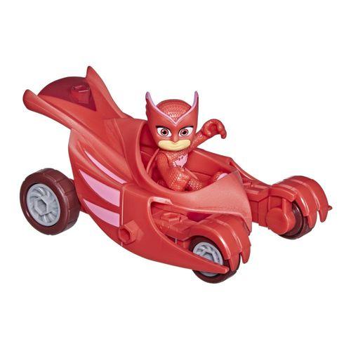 Veículo e Mini Figura - Pj Masks - Corujita - Planador Coruja - Hasbro - Vermelho