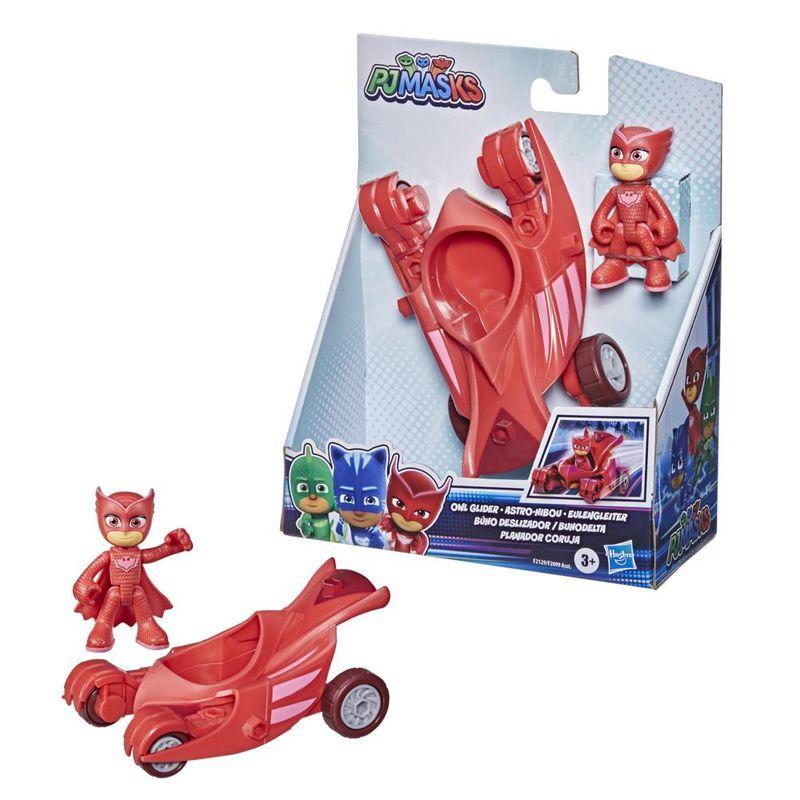 Veiculo-e-Mini-Figura---Pj-Masks---Corujita---Planador-Coruja---Hasbro---Vermelho-2
