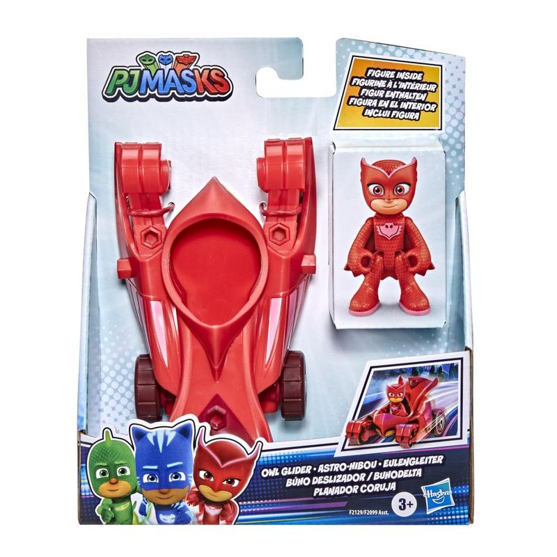 Veiculo-e-Mini-Figura---Pj-Masks---Corujita---Planador-Coruja---Hasbro---Vermelho-3