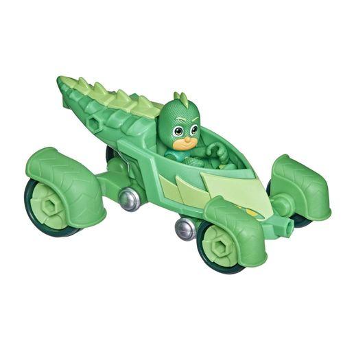 Veículo e Mini Figura - Pj Masks - Lagartixo - Lagartixomóvel - Hasbro - Verde