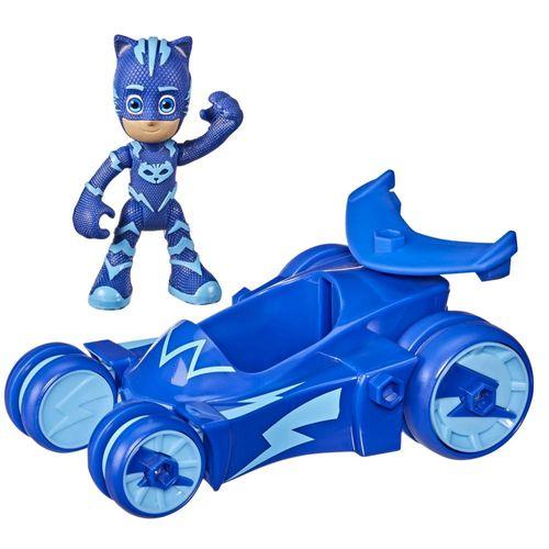 Veículo e Mini Figura - Pj Masks - Menino Gato - Felinomóvel - Hasbro - Azul