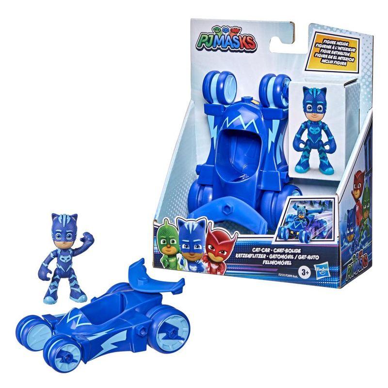 Veiculo-e-Mini-Figura---Pj-Masks---Menino-Gato---Felinomovel---Hasbro---Azul-2