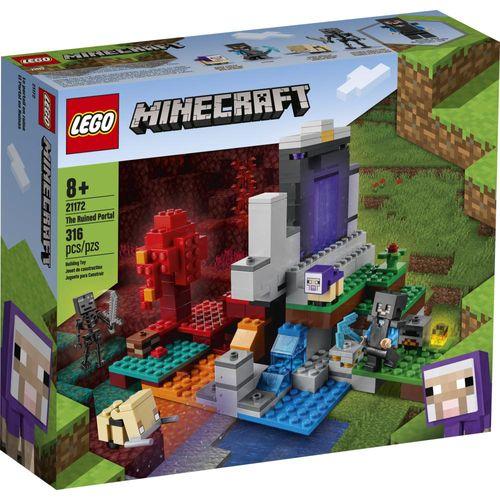 LEGO Minecraft - O Portal em Ruínas - 21172