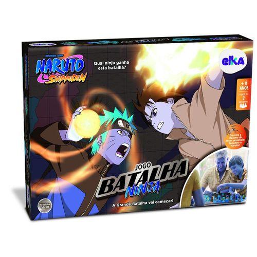Jogo de Tabuleiro - Naruto - Shippuden - Batalha Ninja - Número de Jogadores 2 - Elka