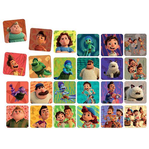 Jogo de Memória - Jak - Disney - Luca - 24 Pares - Número de Jogadores 2 a 4 - Toyster