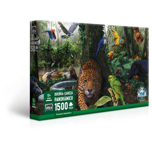 Quebra-Cabeça - 1500 Peças - Floresta Amazônica - Game Office - Toyster