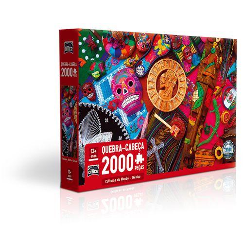 Quebra-Cabeça - 2000 Peças - Culturas do Mundo - Game Office - Toyster