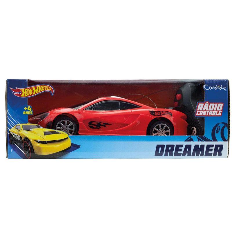 Veiculo-de-Controle-Remoto---3-Funcoes---Hot-Wheels---Dreamer---Vermelho---Candide-3